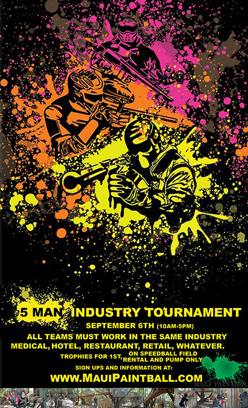 Maui Paintball Industry Event